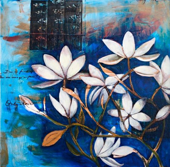 Magnolia Blue (Panel One)