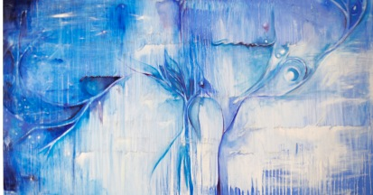 "'Reverie' 36"" x 60"" Oil on Canvas 2009"