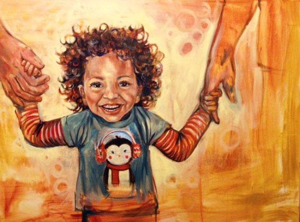 "30"" x 40"" Oil on Canvas 2013"
