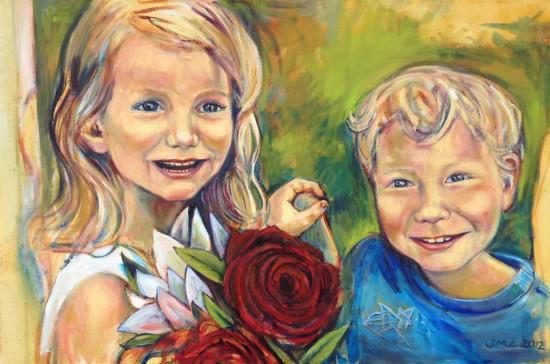 "24"" x 36"" Oil on Canvas 2012"
