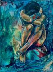 'She is the River' 2018 (Private Collection)